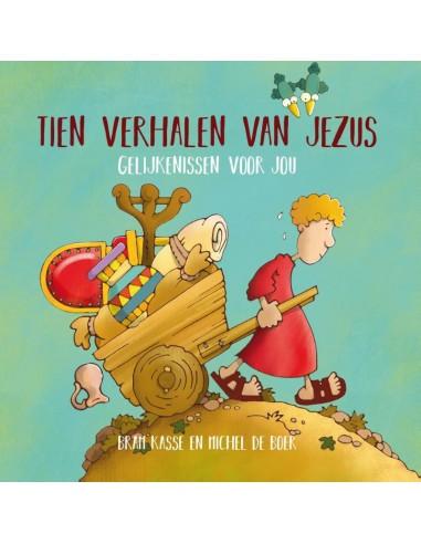 Michel de Boer - Tien verhalen van Jezus
