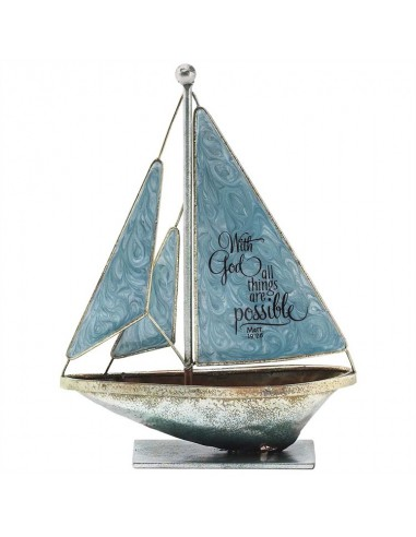 Sailboat with God15cm