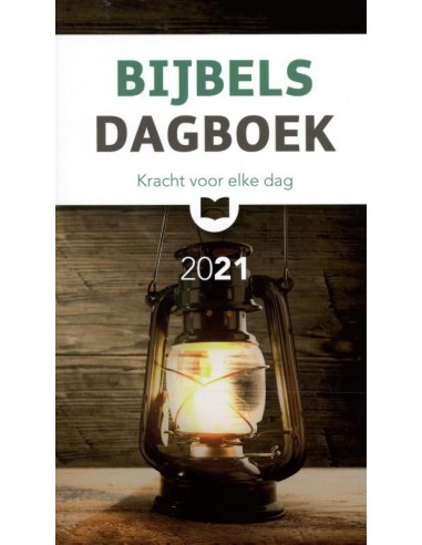 Bijbels dagboek 2021 (groot formaat)
