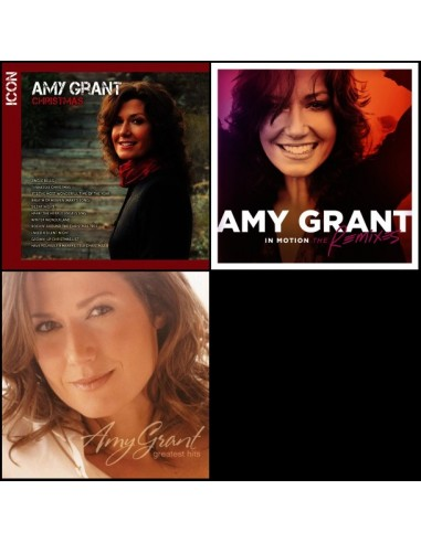 3 CD pakket Amy Grant