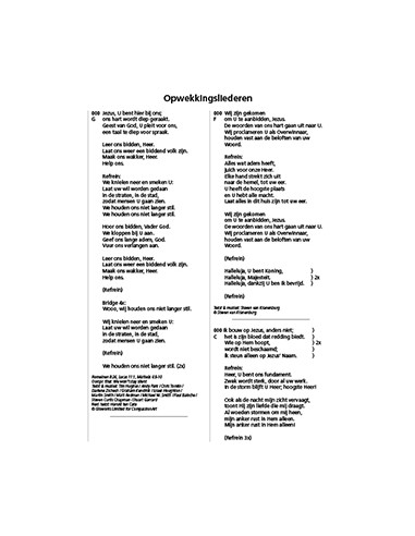 Opwekking tekst aanv 45 (845-857)