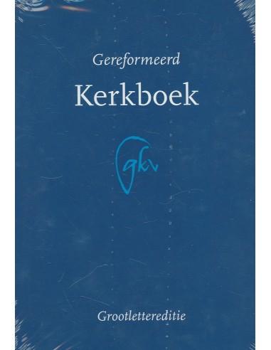 KLEUR: BLAUW - GEREFORMEERD KERKBOEK...