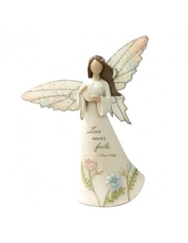 Angel Figurine Love never fails