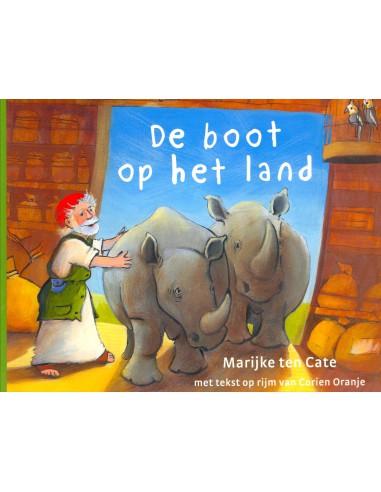Corien Oranje - Boot op het land